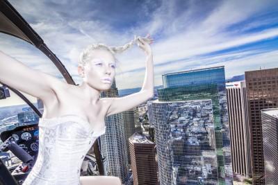 The Dare Devilish Fashion Photographer and His Model