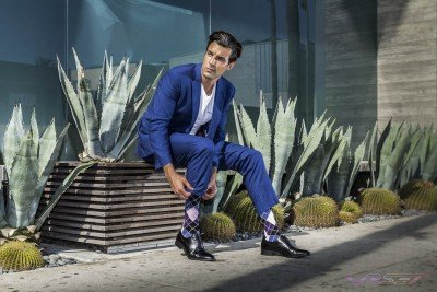 Model-Daniel-Sobieray-Sockbin-Brand-Mens-Socks-LookBook-Blue-Suit-LA-Street-Top-Fashion-Photographer-Los-Angeles-Orange-County-Video-Production-David-Victory