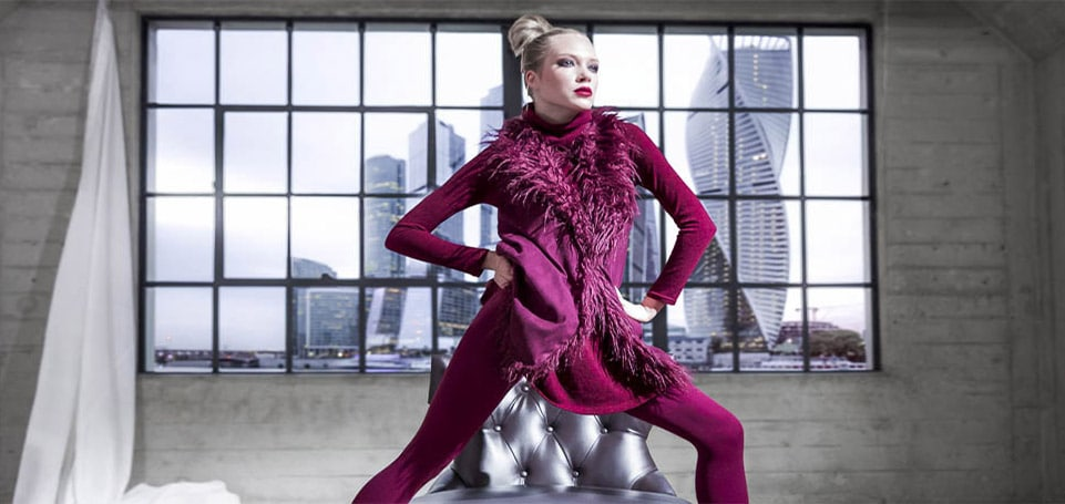 Model-Anna-Kudryavtseva-Miss-Russia-Finalist-Matching-Burgundy-Sleeveless-Coat-Leggings-Studio-Top-Fashion-Photographer-Los-Angeles-Orange-County-Video-Production-David-Victory