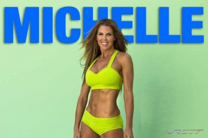 Michelle is a Los Angeles NASM Certified Personal Trainer & Nutritionist CPR/AED certified, NPS competitive, for her photoshoot I used a daylight greenscreen and HDR technique with auxiliary lighting to regsiter her muscle definition, visit her website
