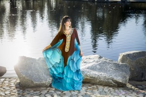 Blue and brown Caftan LookBook by Top Fashion Photographer Los Angeles & Orange County Video Production David Victory