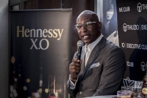 On assignment with NFL Hall of Fame rushing yards record holder Eric Dickerson at the Thuzio Executive Club event, see published Gallery