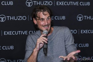 Chris Kluwe NFL record holder and American football punter appearing at at the Thuzio Executive Club Event, he played for Seattle Seahawks, Minnesota Vikings & Oakland Raiders. See published Gallery