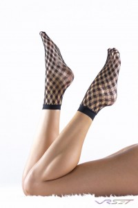 Sockbin NY black fishnet ankle socks how to shoot for Amazon FBA Shopify Ecommerce by Top Fashion Photographer Los Angeles & Orange County Video Production David