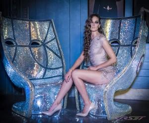Supermodel Nadya Lavrenova portfolio shot