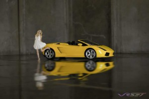 Advertising photographer in Orange County. Lamborghini is a most serious car, so for the opposite of every shot you have seen of a Lambo I decided on this…