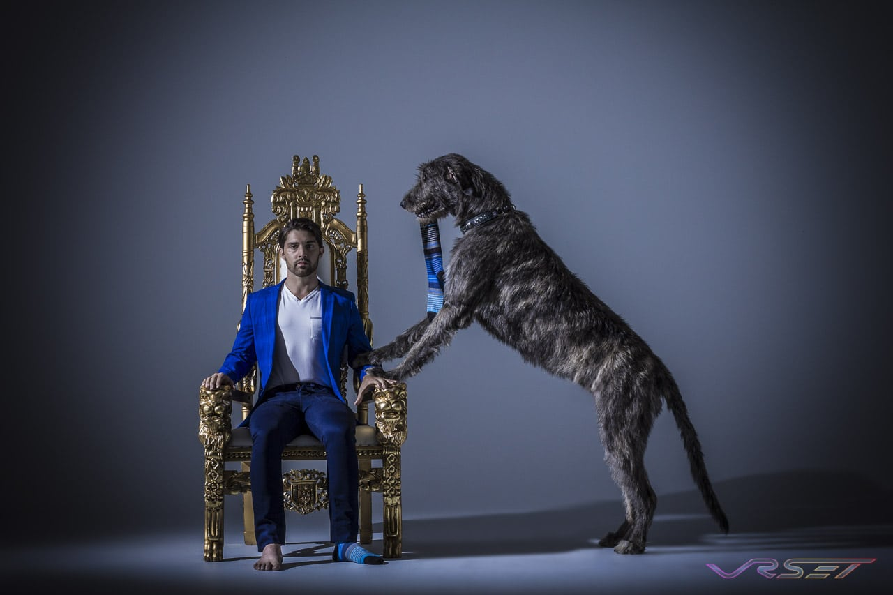 Model-Daniel-Olson-Sockbin-Kingly-Brand-Mens-Socks-Golden-Throne-Irish-Wolfhound-Studio-Top-Fashion-Photographer-Los-Angeles-Orange-County-Video-Production-David-Victory