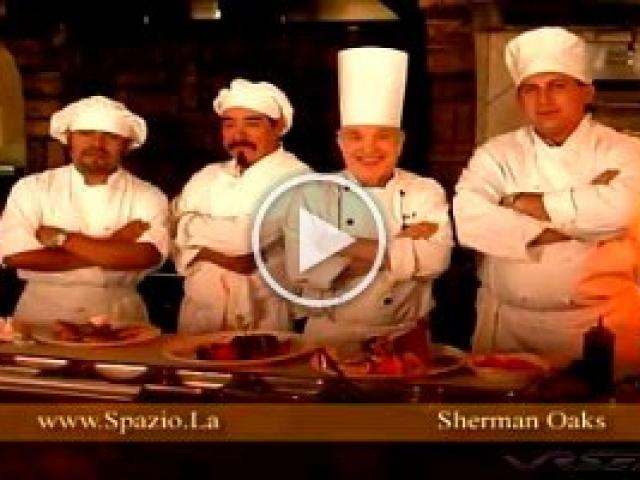 Spazio.Restaurant  Italian restaurant Ad in LA featuring delicious cinematography