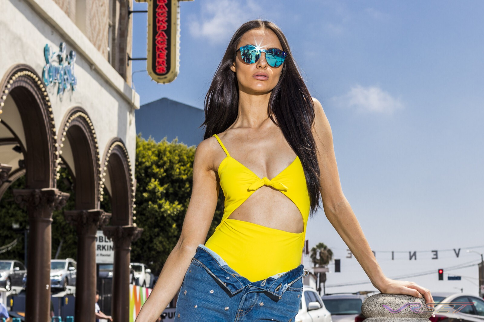 Dionspecs Eyewear Advertising Campaign Female Model Venice California Top Fashion Photographer Los Angeles Orange County Video Production David Victory