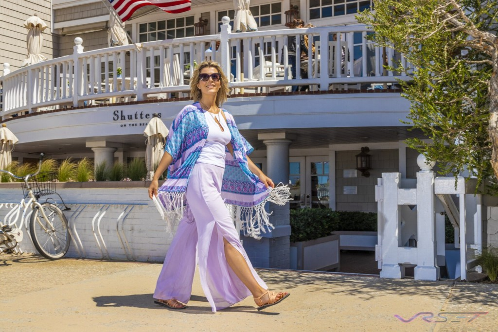 Model Sarah Bonrepaux Plaka Sandals Lifestyle Shutters Hotel Top Fashion Photographer Los Angeles Orange County Video Production David Victory