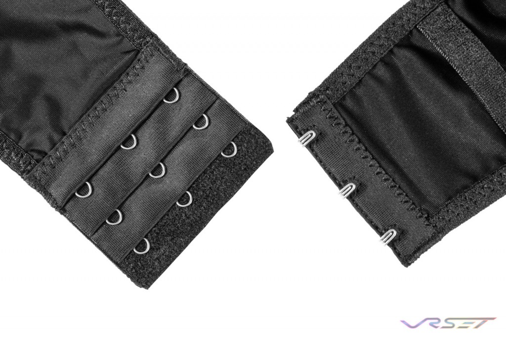 Amazon Shopify eCommerce Black Bra Clasp Detail Lamour Intimates Lingerie Photography Los Angeles