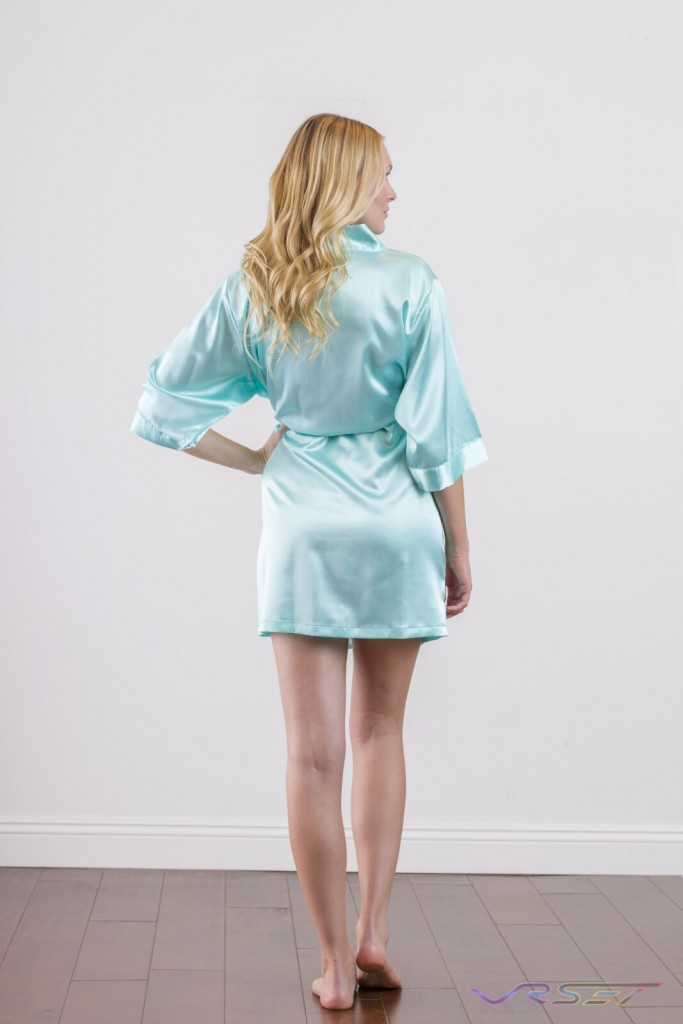 Bella Bride Bridal Turquoise Robe LA eCommerce Photography