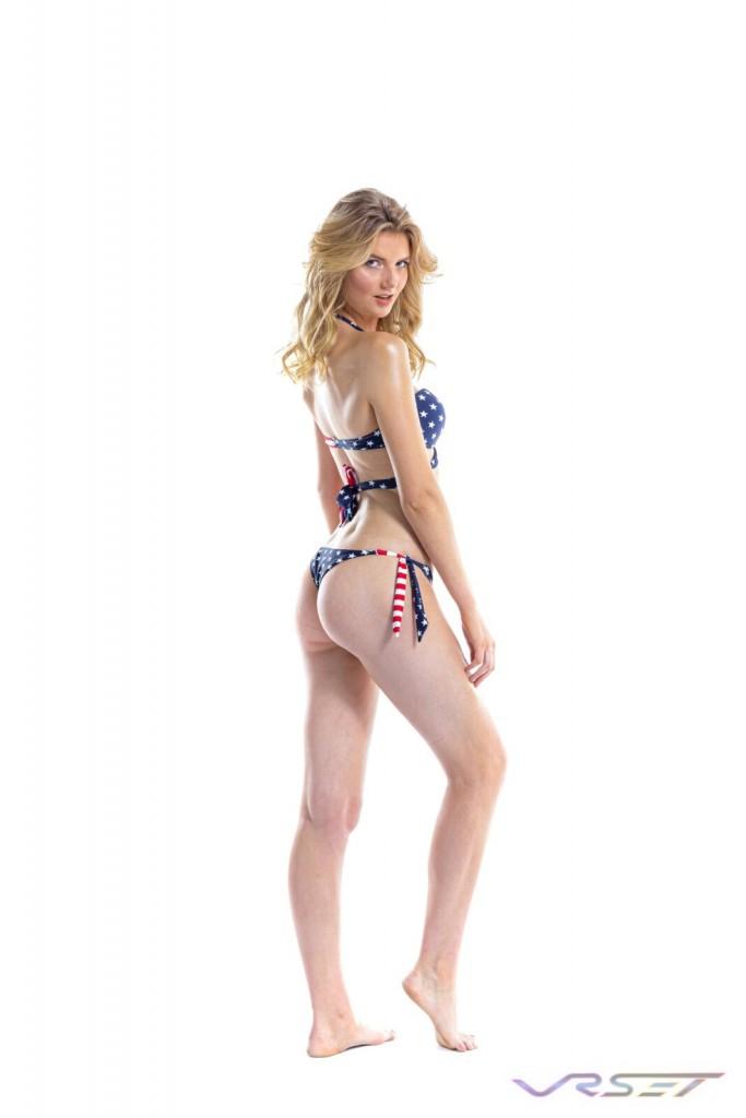 Model AnnaLisa Christiane ForeverCatalina Swimsuits Swimwear Bikini Beachwear Bathingsuit Loungewear Collection Amazon Shopify ecommerce Fashion Photographer Los Angeles 1