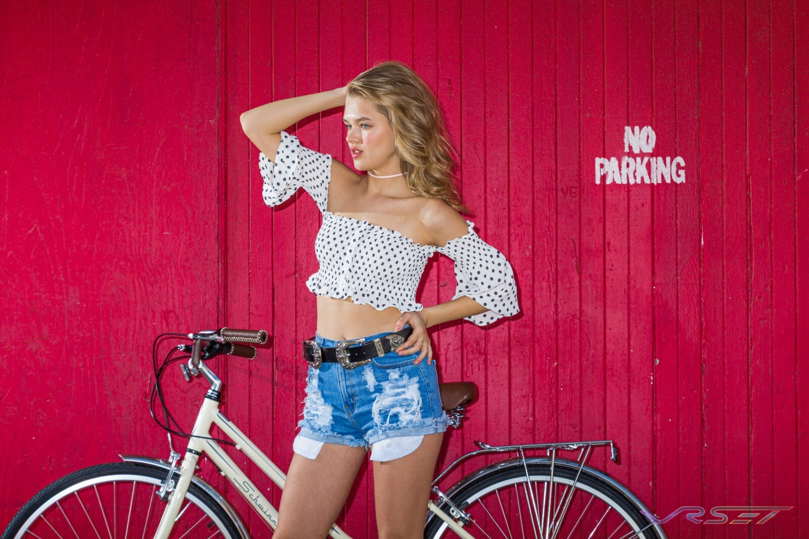 Womens Spring Collection Lifestyle Photography Bicycle Los Angeles