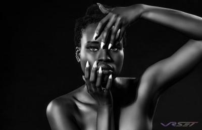 Model Wokie Zaria Kiamue Laque Nail Bar Studio Advertising Photography Los Angeles