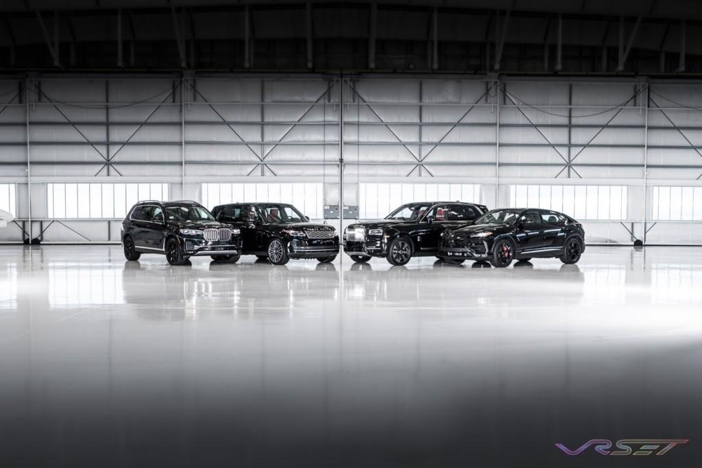 BMW X7 Range Rover HSE Rolls Royce Cullinan Lamborghini Urus LAX Hangar Commercial Studio Automobile Photographer Los Angeles