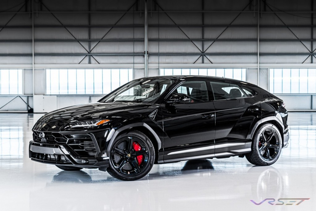 BHCR Lamborghini Urus SUV LAX Hangar Commercial Studio Automobile Photographer Los Angeles