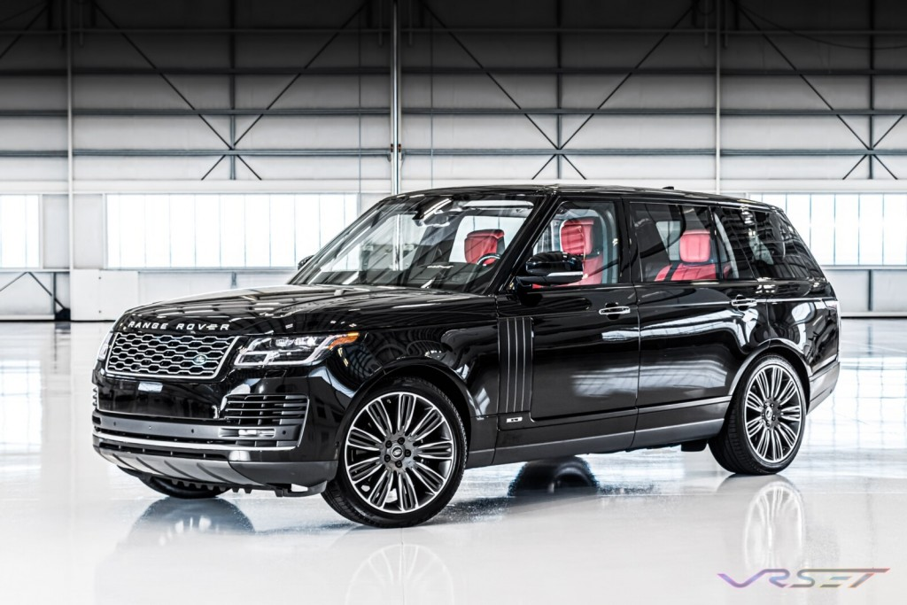 Range Rover HSE SUV LAX Hangar Commercial Studio Automobile Photographer Los Angeles
